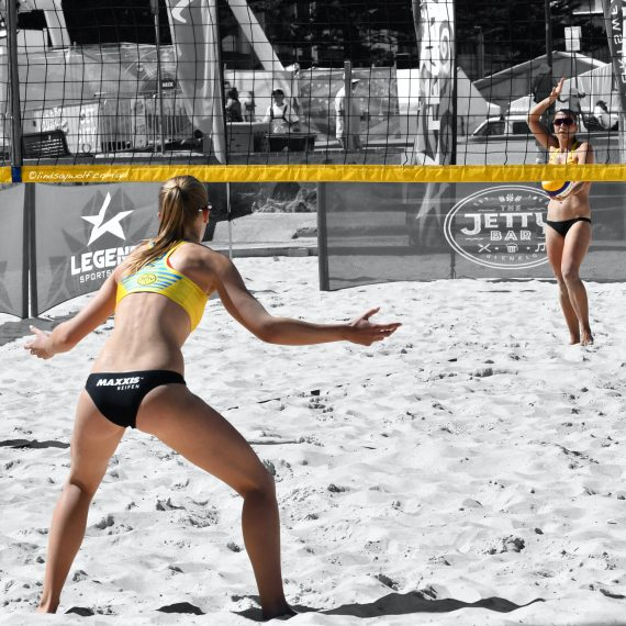 Sarah Richter (Server), Sandra Ittlinger (Receiver) - Selective colour via Affinity Photo